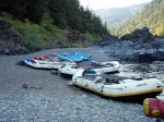 Rogue River Camp Beach