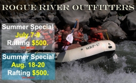 Rogue River Rafting Special